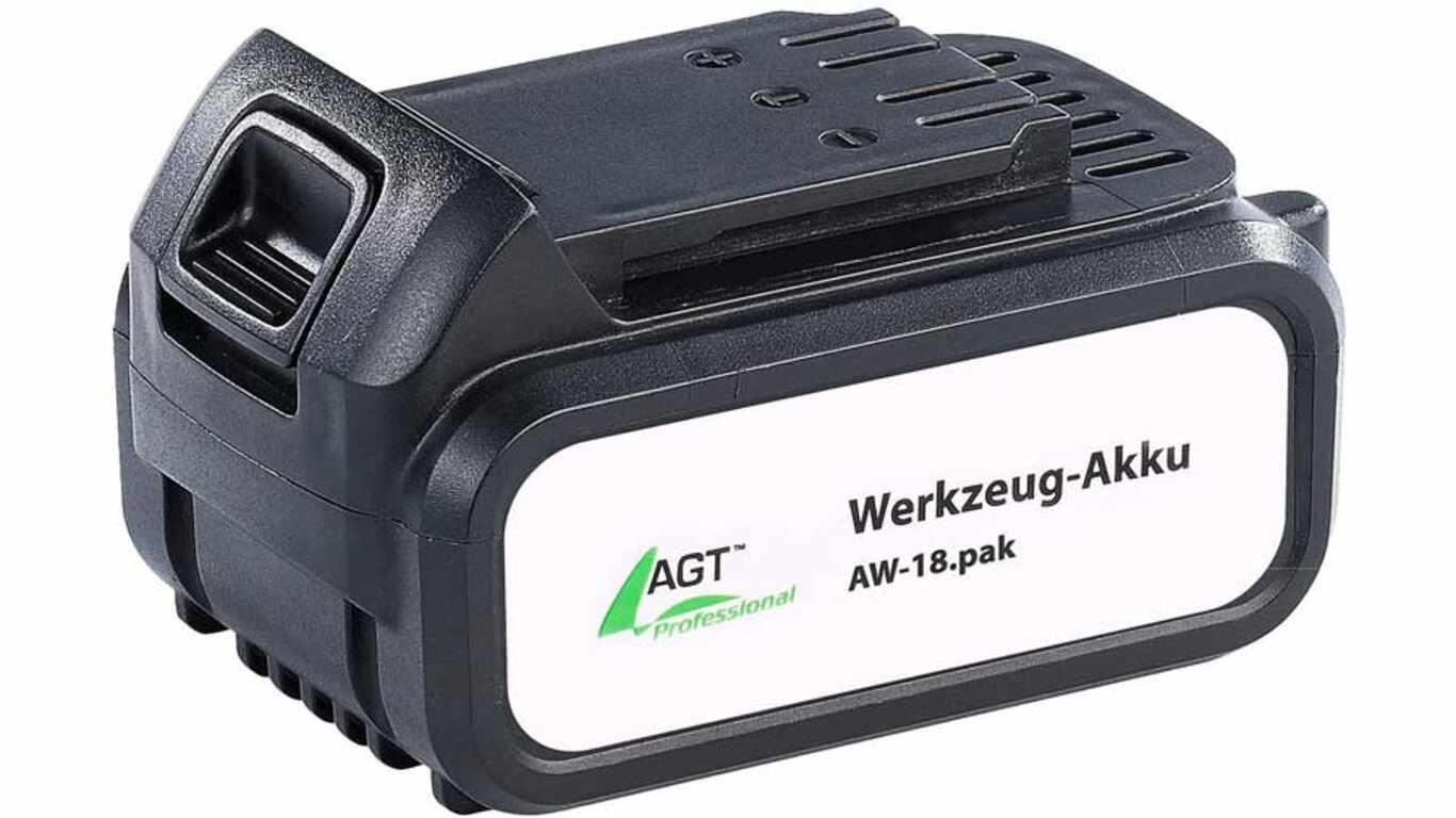 test et avis batterie AGT professional AW-18ak 4.0 Ah pas cher