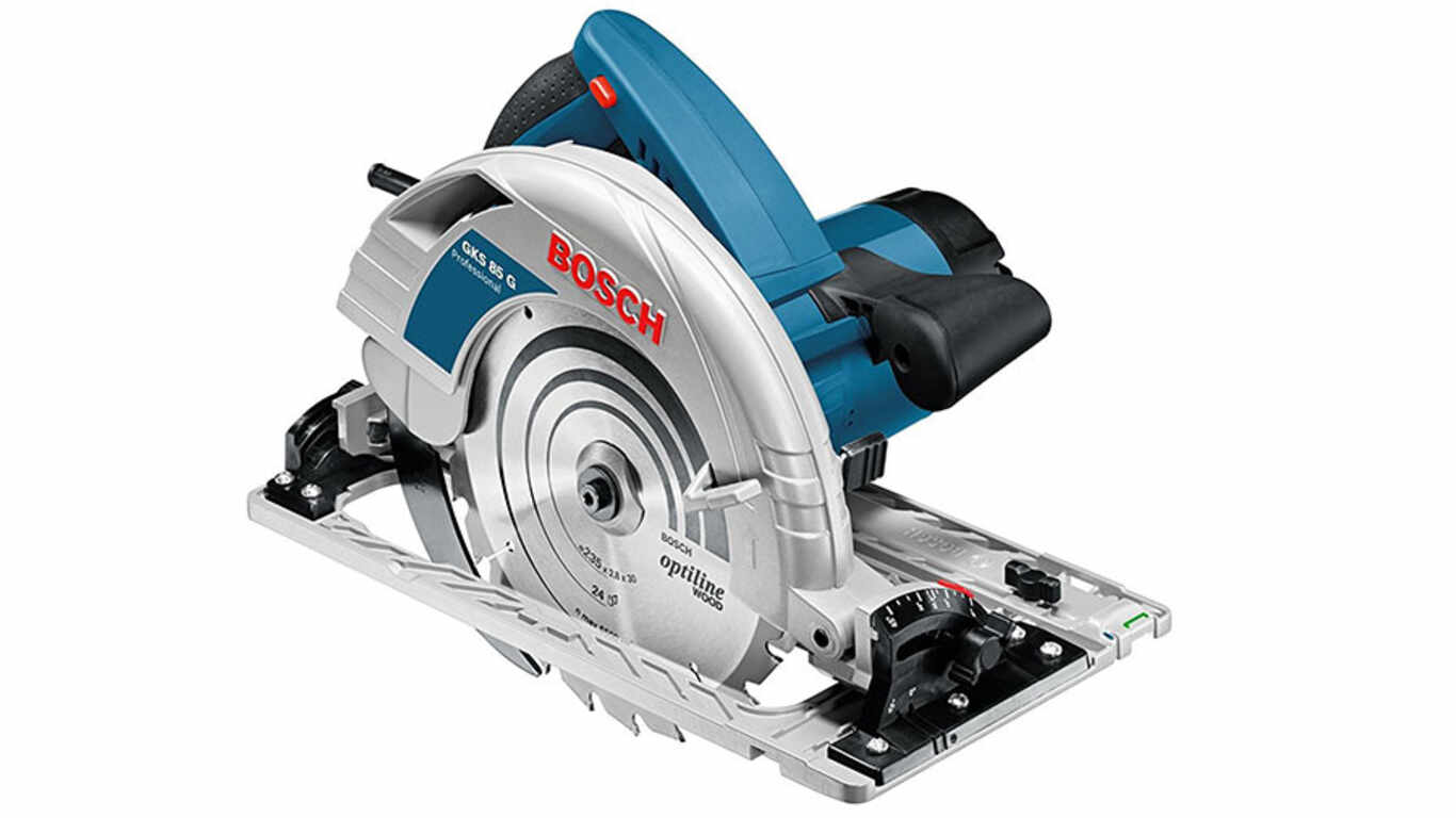 Test et avis de la scie circulaire GKS 85 G Bosch professional prix pas cher
