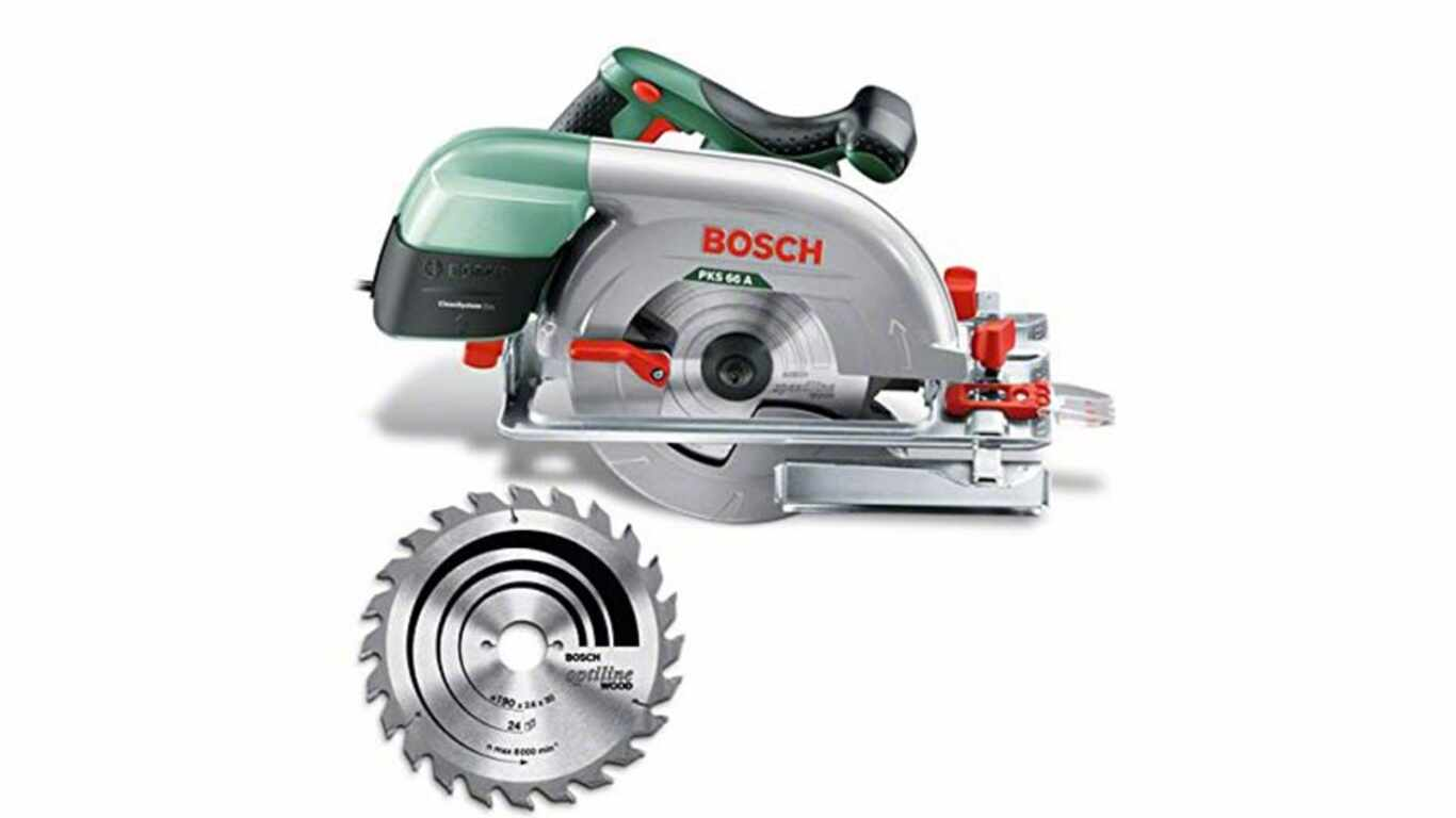 test et avis Bosch scie circulaire PKS 66 A prix pas cher