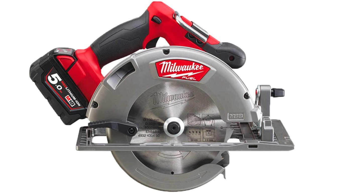 Test et avis scie circulaire Milwaukee M18 CCS66-502C prix pas cher