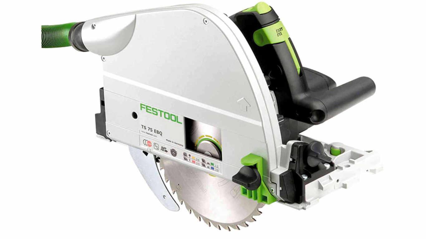 Test et avis de la scie circulaire plongeante Festool TS 75 EBQ-Plus prix pas cher