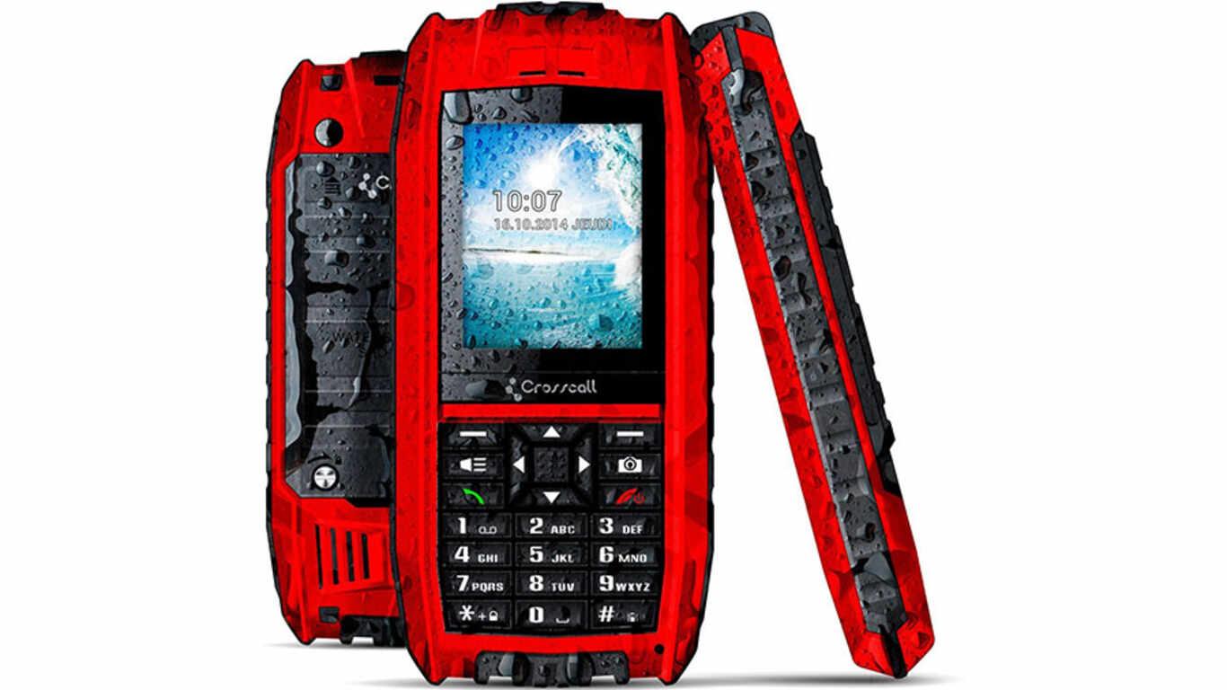 Test téléphone chantier Crosscall SHARK-V2 pas cher